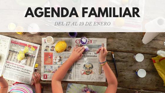 AGENDA FAMILIAR 17-19 ENERO DE 2020