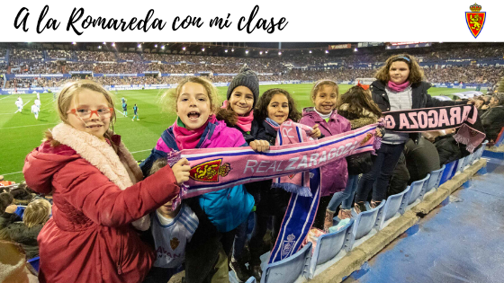 Real Zaragoza: A La Romareda con mi clase