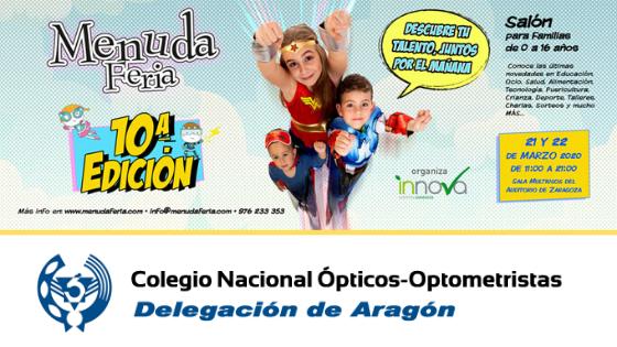 EXPOSITORES 10ª EDICIÓN MENUDA FERIA. COLEGIO DE ÓPTICOS-OPTOMETRISTAS DE ARAGÓN