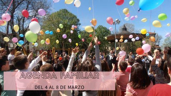 AGENDA FAMILIAR DEL 5-8 DE MARZO