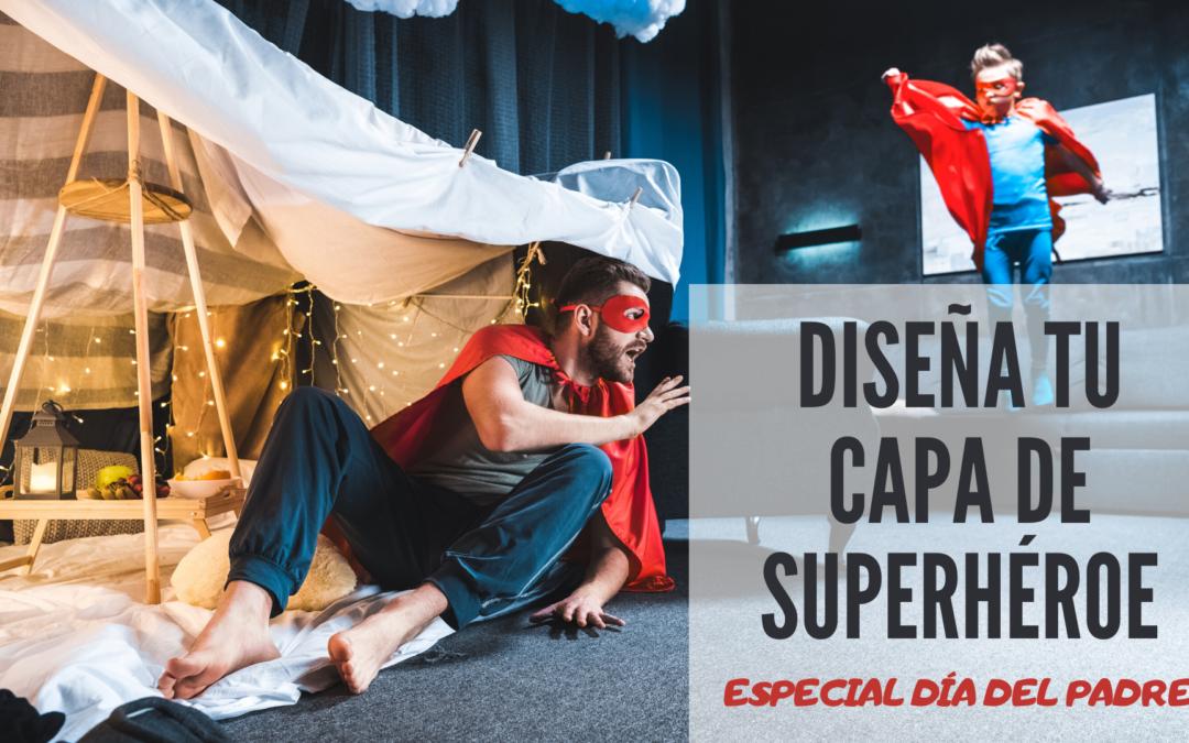 Manualidades. Diseña tu capa de superhéroe