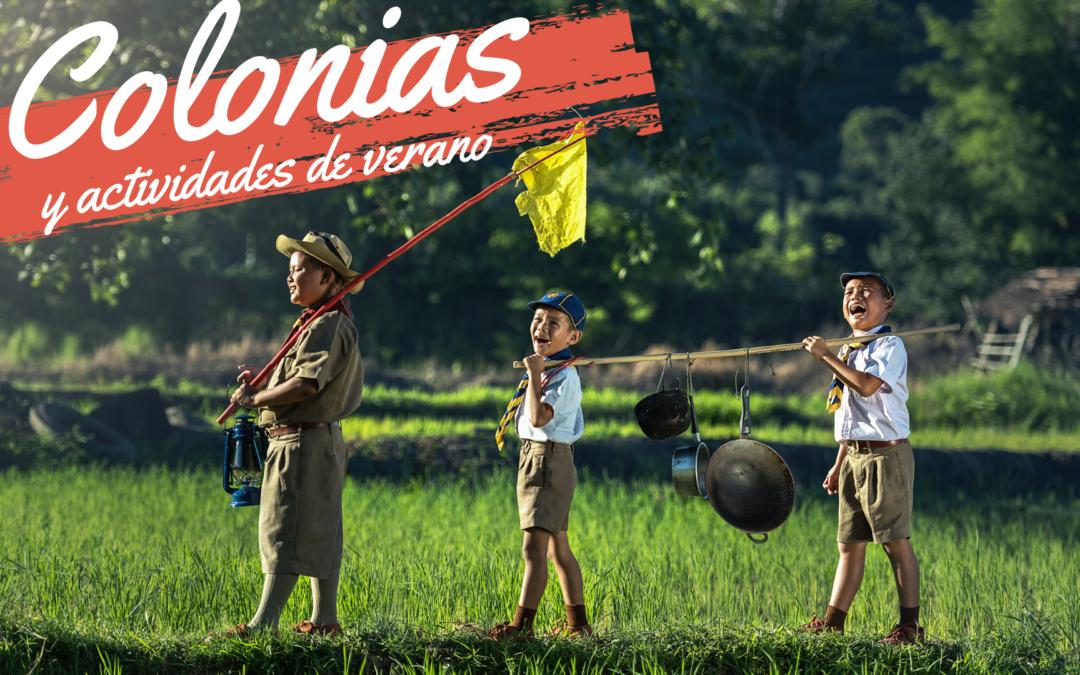 Colonias y actividades de verano para niños
