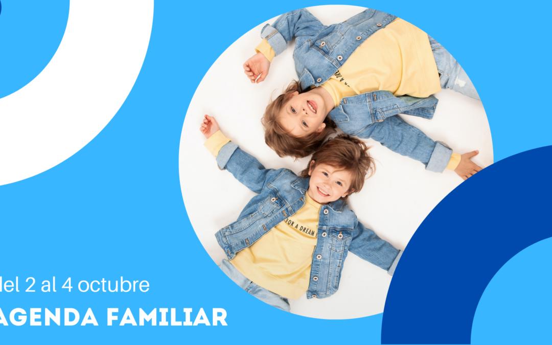 AGENDA FAMILIAR DEL 2 AL 4 DE OCTUBRE