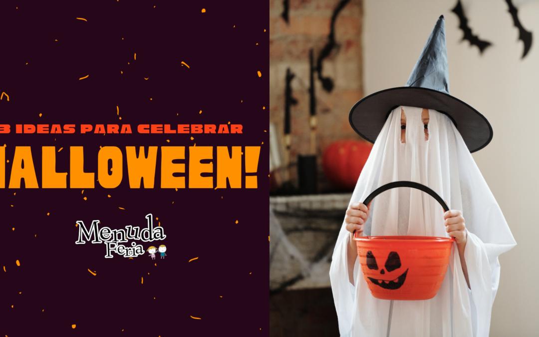 5 ideas para celebrar Halloween en familia