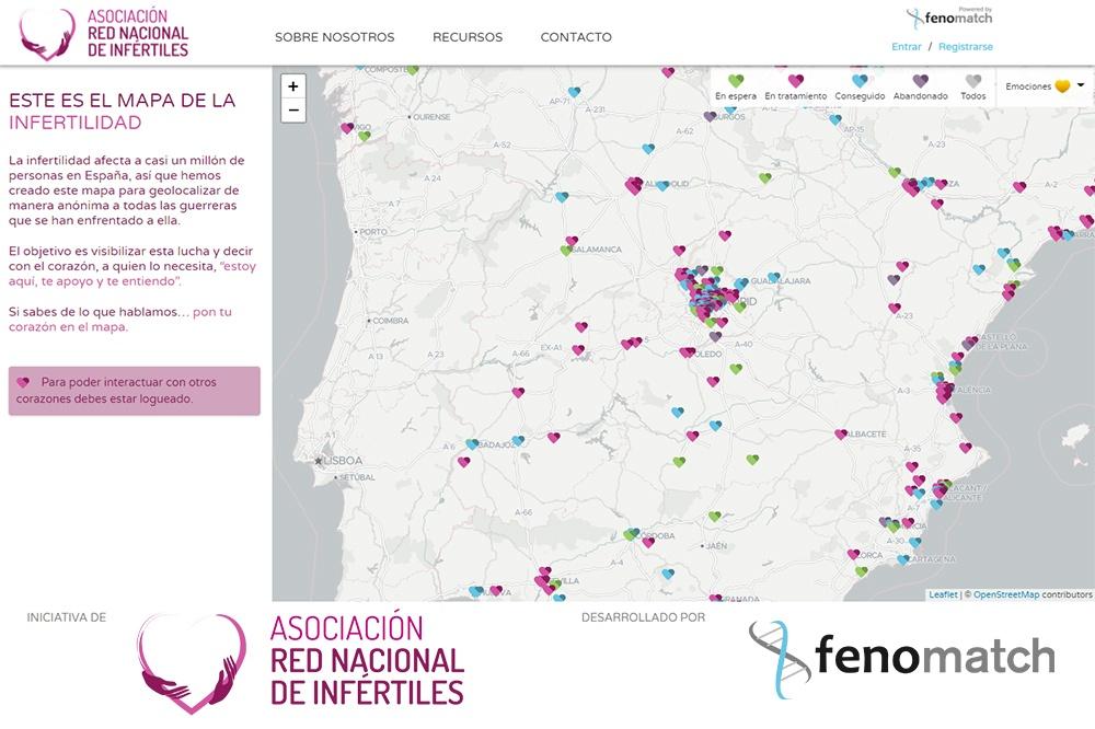Mapa de la Infertilidad por Fenomatch