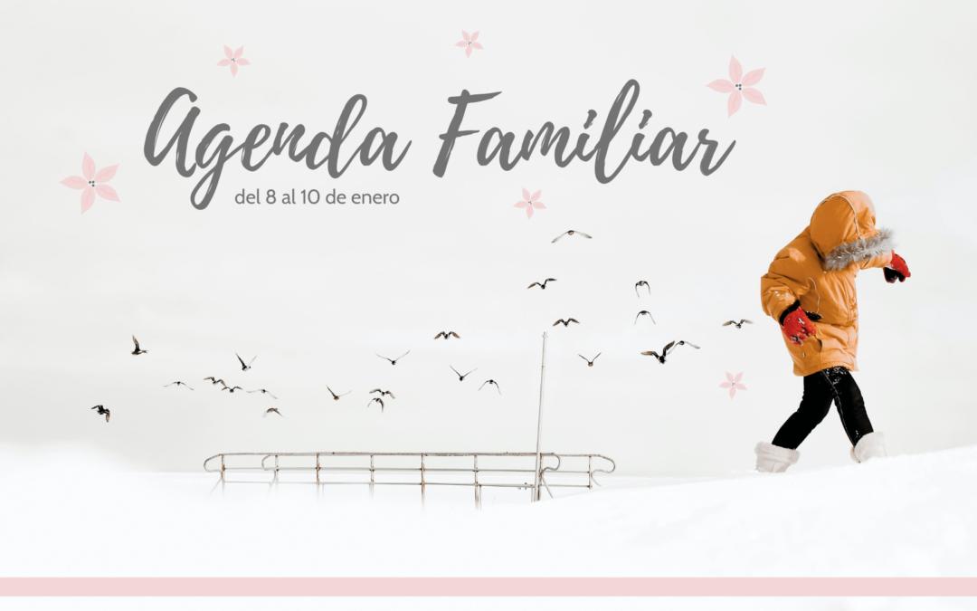 AGENDA FAMILIAR DEL 8 AL 10 DE ENERO