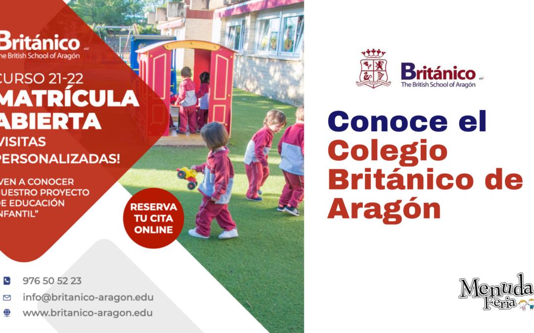 Conoce el Colegio Británico de Aragón