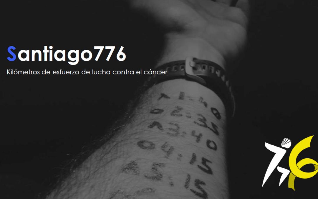 Santiago 776: Kilómetros de esfuerzo de lucha contra el cáncer