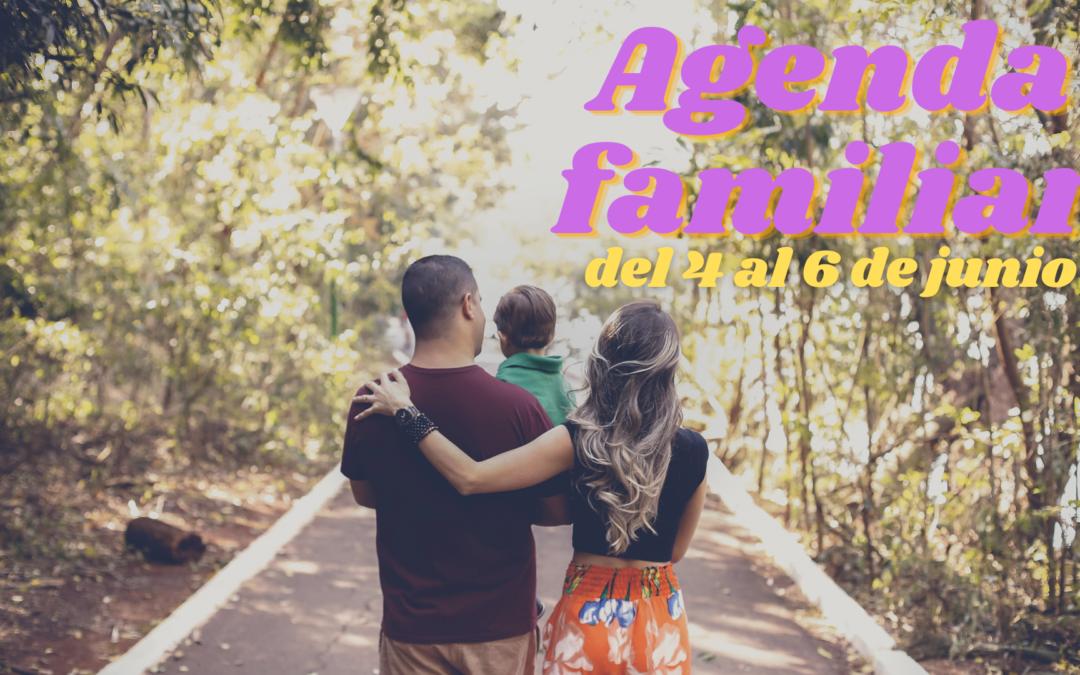 AGENDA FAMILIAR DEL 4 AL 6 DE JUNIO