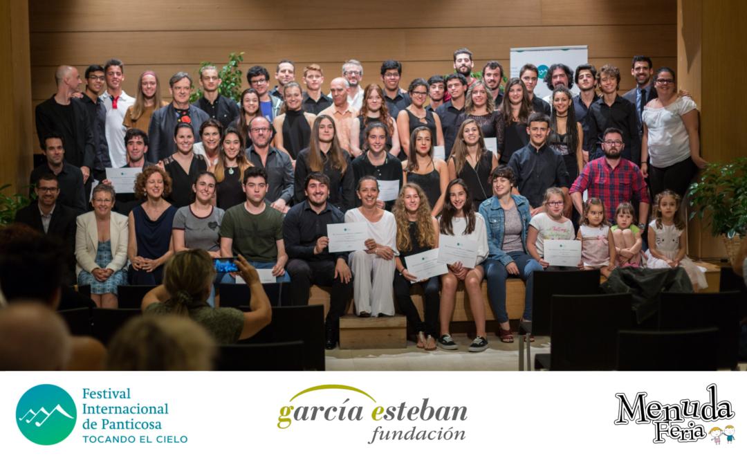 Vive el talento joven musical en Fundación García Esteban